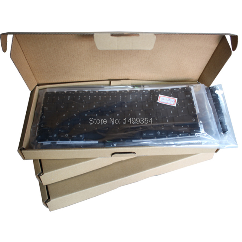 Yeni a1370 a1465 için İsviçre İsviçre klavye apple macbook air 11 &39;&39;a1465 a1370 klavye swiss standart 2011-2015
