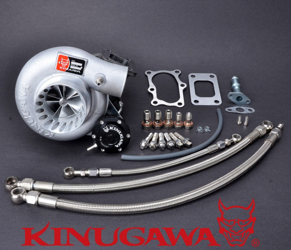 Kinugawa Turbo 3 Anti Dalgalanma TD06SL2-20G 8 cm için Nissan RB20DET RB25DET Bolt-On