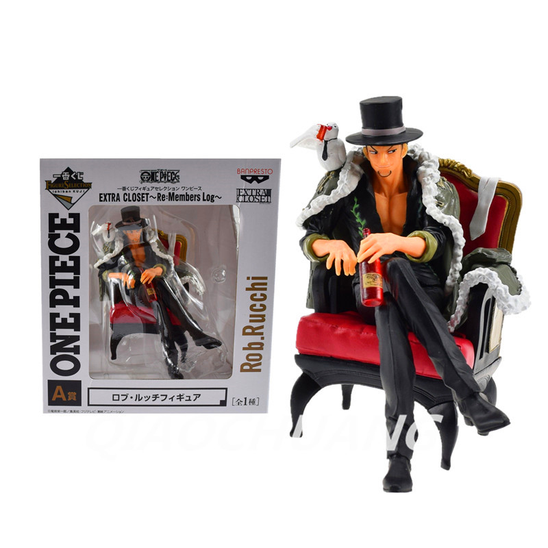 Anime One Piece CP9 Rob Lucci Marco Ekstra Dolap Re: üyeleri Log Rob W51 Rucchi PVC Action Figure Koleksiyon Model Oyuncak Kutulu