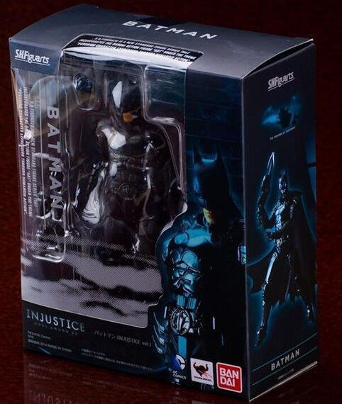 15 cm SHFigure Batman PVC Action Figure BJD Koleksiyon Model Oyuncaklar